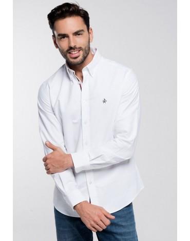 Valecuatro camisa blanca oxford
