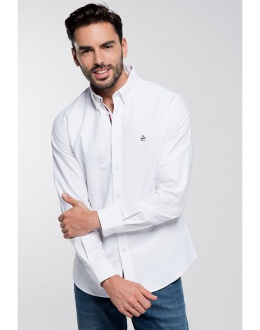 Valecuatro oxford white shirt