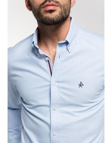 Valecuatro camisa celeste Oxford