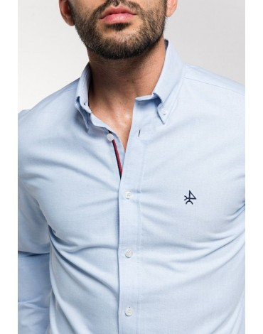 Valecuatro oxford light blue shirt