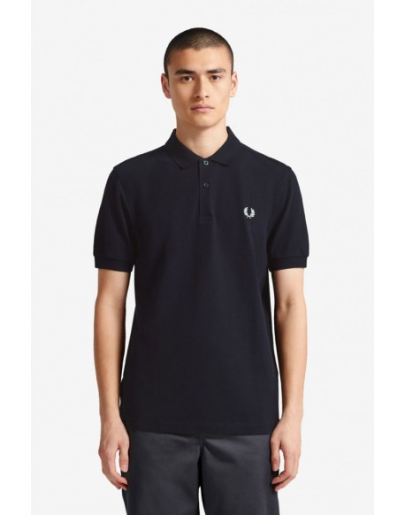 Fred Perry men's navy polo
