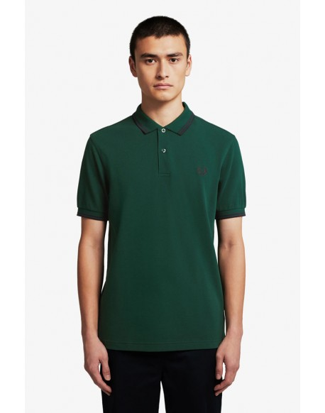 Fred Perry polo ivy marine stripes