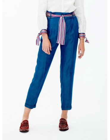 Vilagallo pantalon denim azul