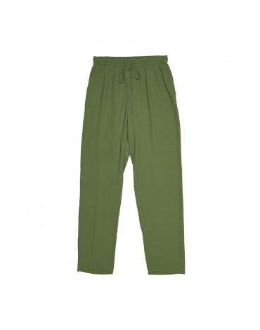 MdM pantalon verde mujer