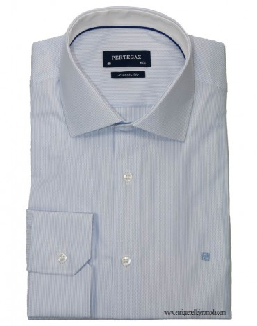 Pertegaz blue dress shirt
