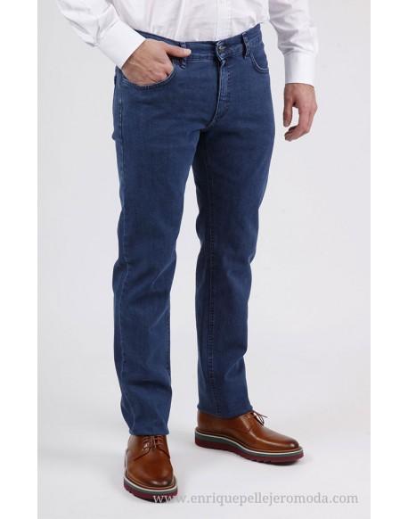 Pertegaz blue denim pants