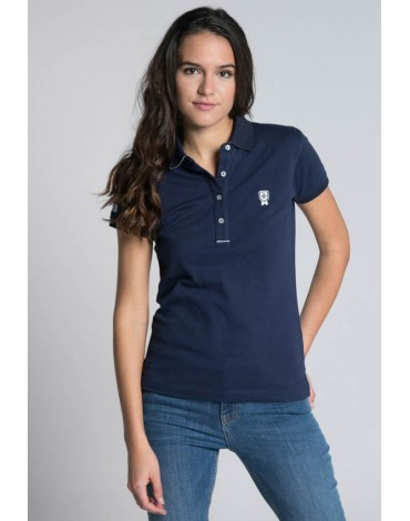 Valecuatro navy blue polo shirt
