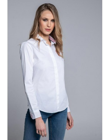 Valecuatro camisa blanca Polo Ladies