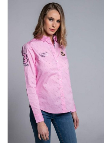 Valecuatro camisa rosa be you