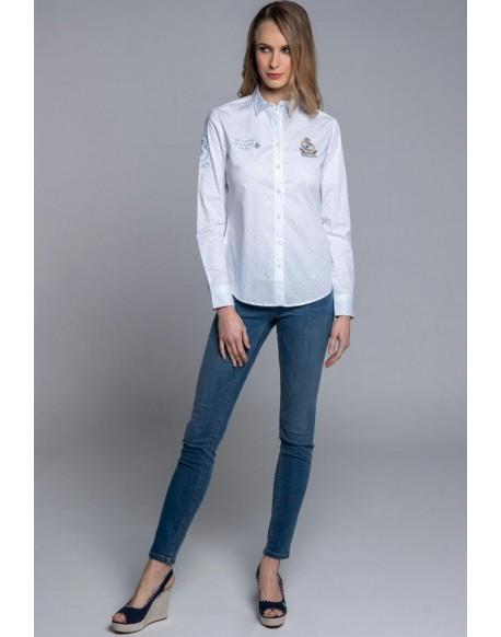 Valecuatro camisa blanca be you