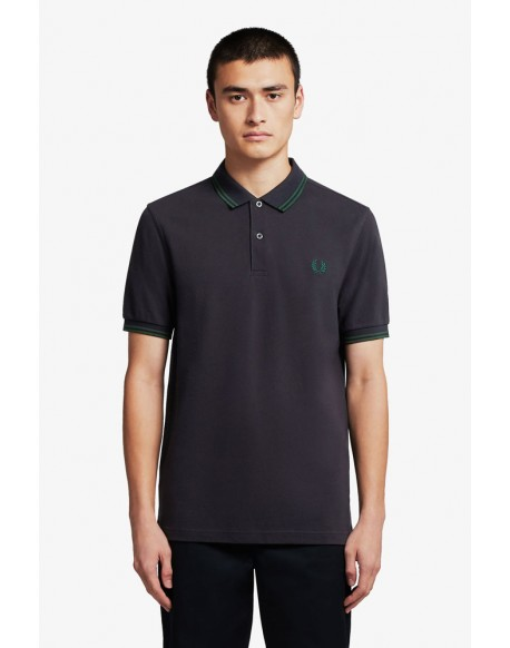 Fred Perry ivy stripes marine polo shirt
