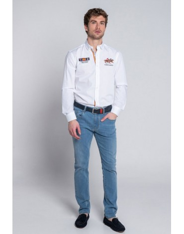 Valecuatro camisa blanca España V4