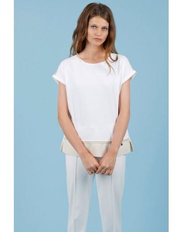Hongo camiseta blanca