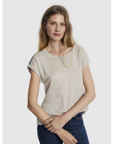 Escorpion beige beige t-shirt