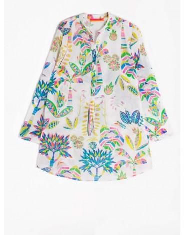 Vilagallo floral print blouse