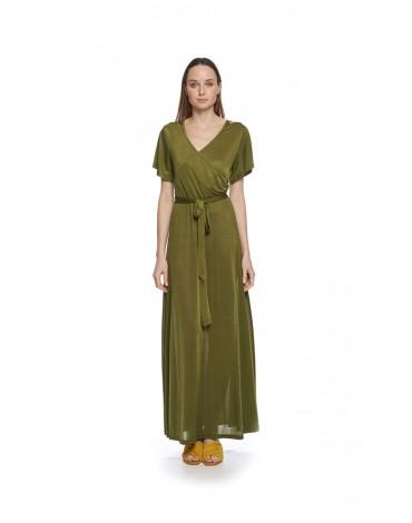 MdM long green dress