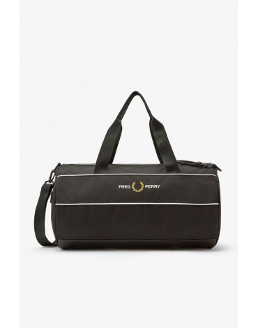 Fred Perry black derport bag