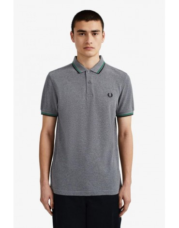 Fred Perry gray polo shirt M3600