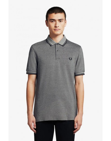 Fred Perry black polo oxford M3600