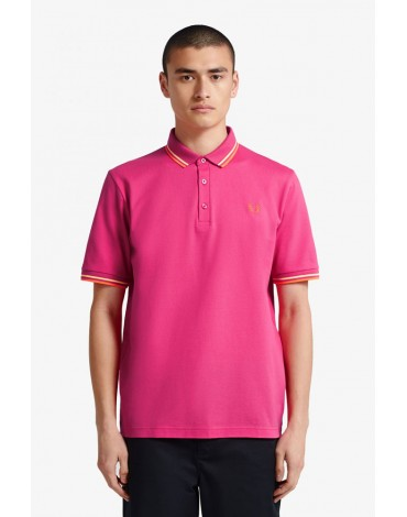 Fred Perry polo mangenta hecho en Japon