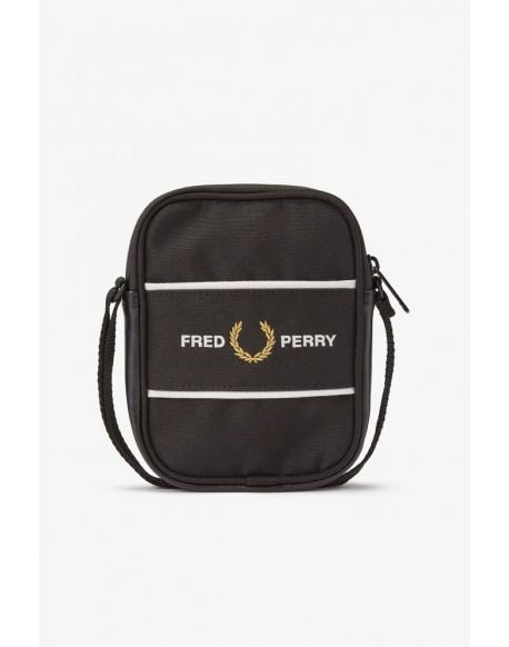 Fred Perry bandolera negra