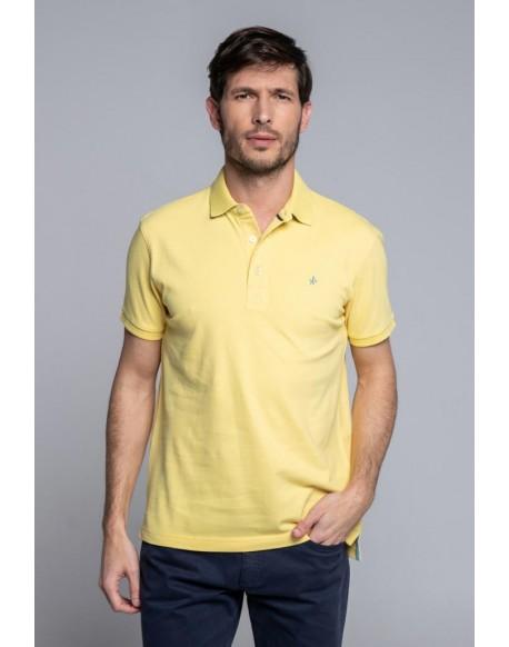 Valecuatro yellow polo