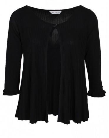 SMF chaqueta negra mujer