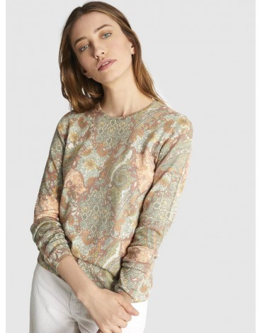 Escorpion floral print sweater