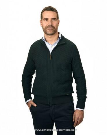 Pertegaz chaqueta punto verde