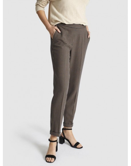 Ecorpion houndstooth trousers