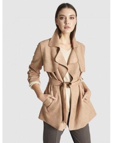 Escorpion abrigo camel