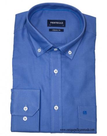 Pertegaz camisa sport azul