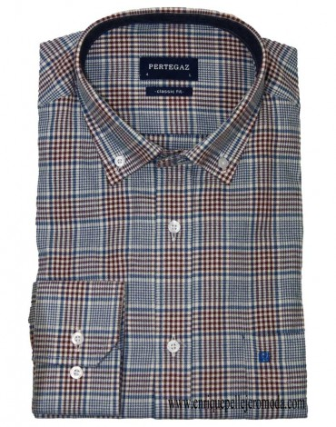 Pertegaz houndstooth shirt