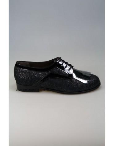 Daniela zapatos negros charol
