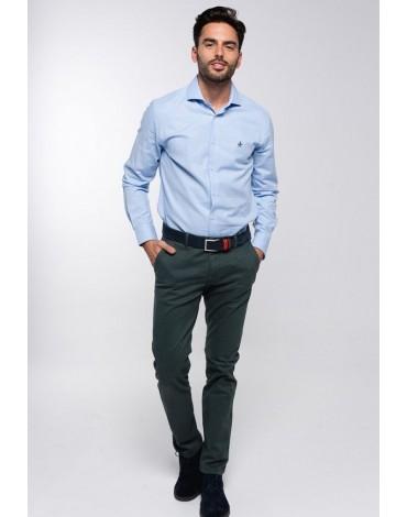 Valecuatro pantalón chino verde
