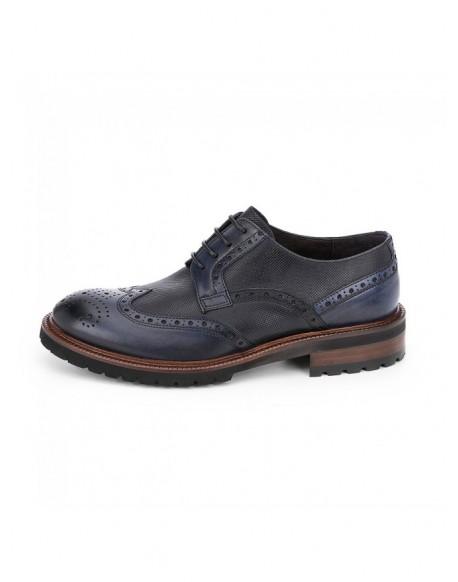 Chopo zapatos derby marino