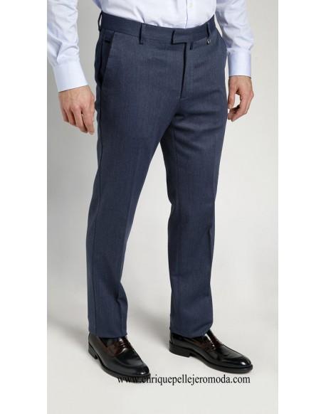 Pertegaz pantalón vestir azul