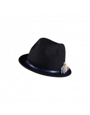Sombrero mujer azul marino