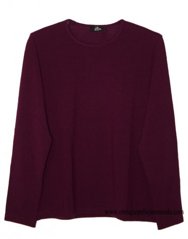 Zero maroon knit sweater