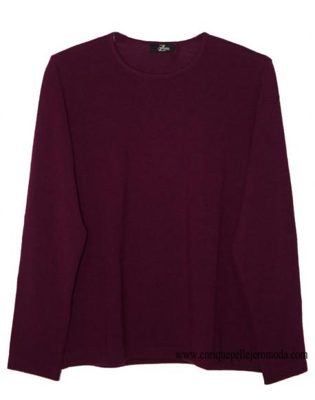 Zero maroon knit sweater