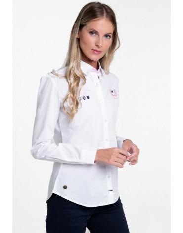 Valecuatro camisa blanca Hamptons