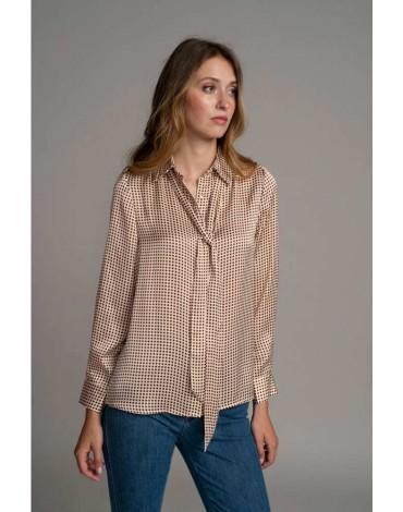 SMF camisa estampada mujer