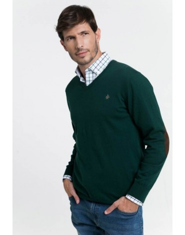 Valecuatro bottle green sweater