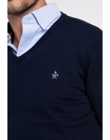 Valecuatro navy blue sweater