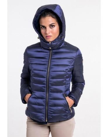 Valecuatro abrigo acolchado mujer azul