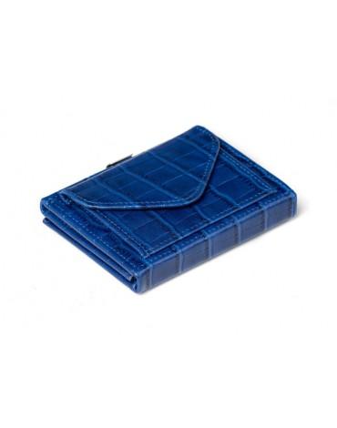 Exentri cartera monedero azul caiman