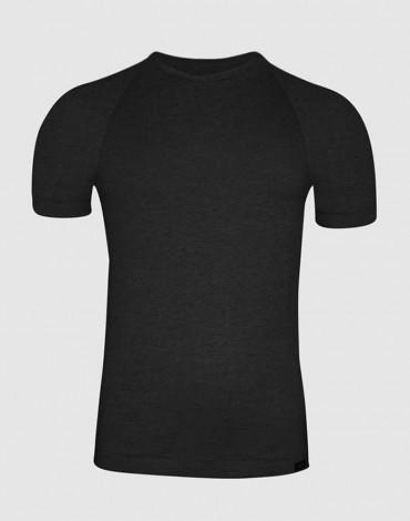 ZD camiseta negra hombre