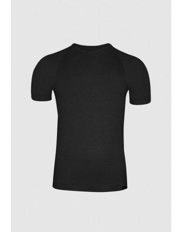 Camiseta negra ZD hombre