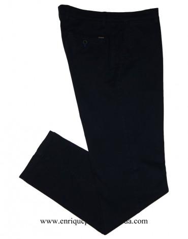 Pertegaz navy blue chinos trousers