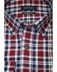 Pertegaz maroon check shirt